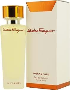Salvatore Ferragamo Tuscan Soul by Salvatore Ferragamo for Men and Women. Eau De Toilette Spray 4.2 Ounce