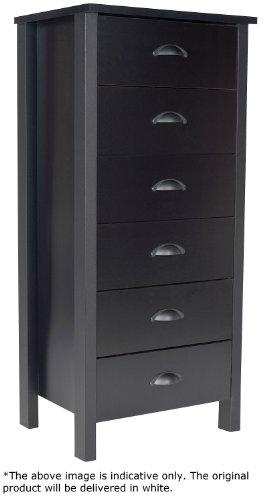 Black Bureau Dresser front-599666