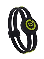 Bioflow Sport Twin Magnetic Wristband Black/Lime