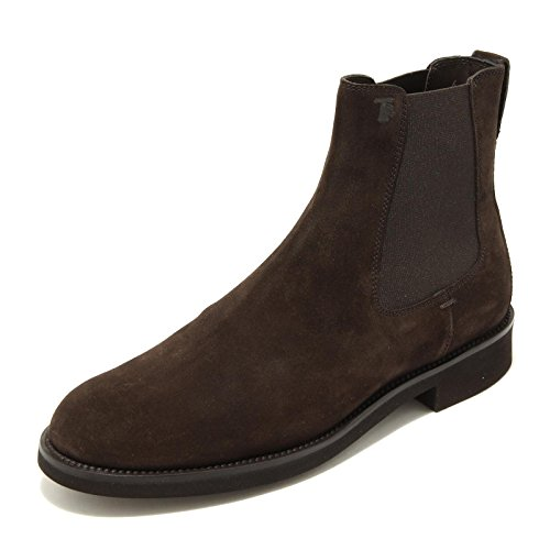 4946G stivaletto beatles uomo brown TOD'S tronchetto elastico fondo light [7.5]