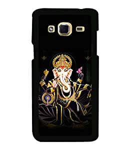 printtech Lord God Ganesha Back Case Cover for Samsung Galaxy J3 Pro