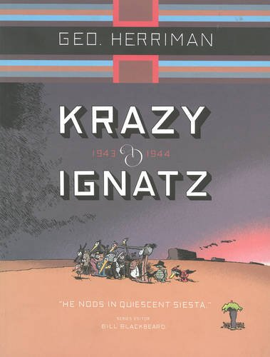 Krazy&Ignatz 10 1943-44 He Nods In Quiescent Siesta (Krazy and Ignatz)