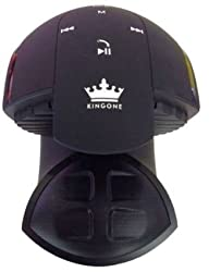 KinGone K99 Bluetooth Speaker with NFC TF MP3 Player and Handsfree Surround Sound & Super Bass Black