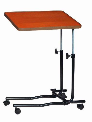 Drive Medical 946 - Tavolino da letto, modello standard, con 4 ruote