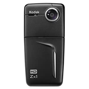 See Kodak Zx1 HD Pocket Video Camera (Black) Full size and View details