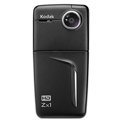 Amazon.com: Kodak Zx1 HD Pocket Video Camera (Black)