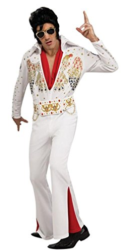 Deluxe Elvis Costume - X-Large - Chest Size 44-46