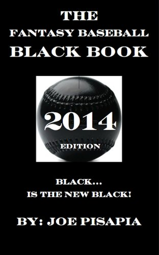 The Fantasy Baseball Black Book 2014 Edition cover