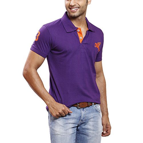 Max Max Exports Men's Cotton Polo Tshirt (Multicolor)
