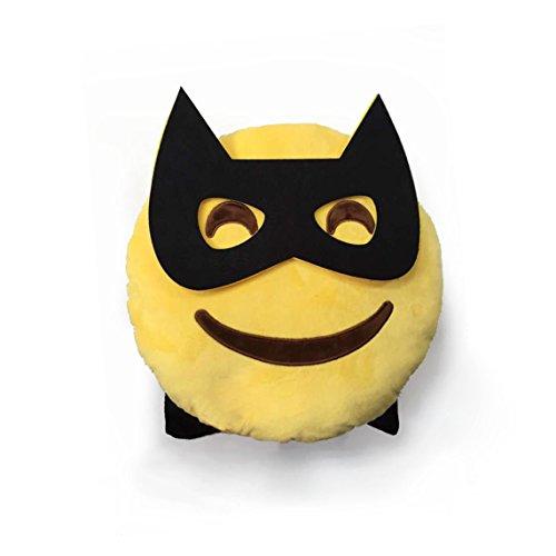 Emojicon Superhero Pillow