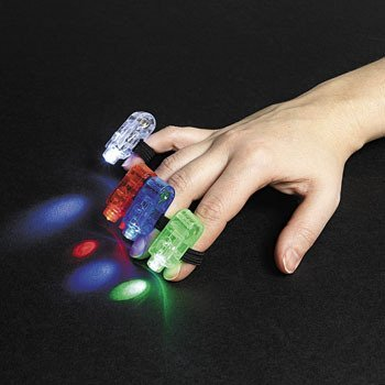 12 Finger Beams - Glow Products & Glow in the Dark - 1
