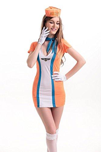 Mooni (Halloween Air Hostess Costume)