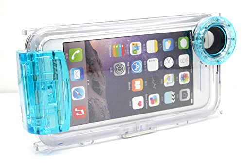 Waterproof Diving Housing Protective Case Cover 40M/130ft for Apple iPhone 6 Plus 5.5