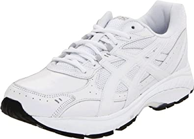 ASICS Men's GEL-Foundation Walking Shoe,White/White/Silver,10.5 (4E) US