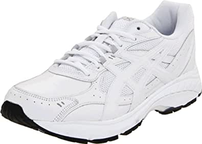 ASICS Men's GEL-Foundation Walking Shoe,White/White/Silver,10.5 (4E) US