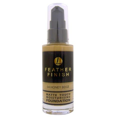 Mayfair, Feather Finish, Fondotinta opacizzante idratante, 04 Honey Beige, 30 ml