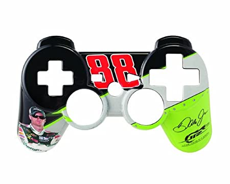 PS3 NASCAR Controller Faceplate National Guard - White