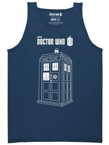 Doctor Who Tardis Tank Top