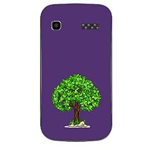 Skin4gadgets Spring Tree Colour - Rebecca Purple Phone Skin for MICROMAX BOLT (A35)