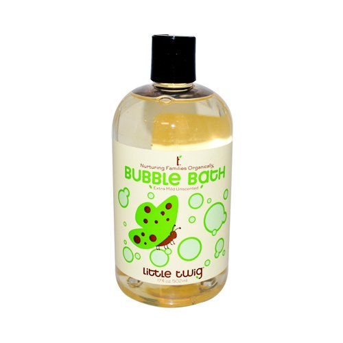 Little Twig Bubble Bath Extra Mild, Unscented, 17 Fluid Ounce