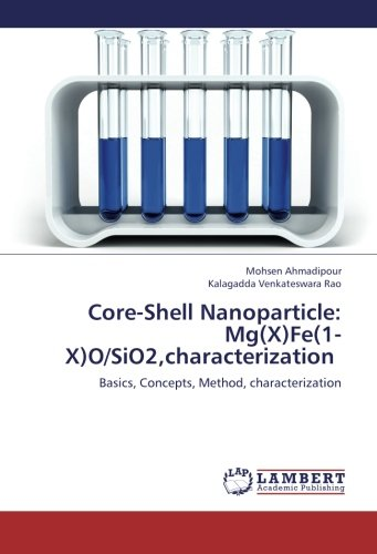 Core-Shell Nanoparticle: Mg(X)Fe(1-X)O/SiO2,characterization: Basics, Concepts, Method, characterization