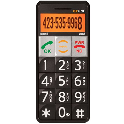 Link to Snapfon ezONE-C Senior Cell Phone with Big Buttons and Easy to Use: Cell Phones & Accessories On Sale