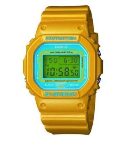 Casio+Men%27s+G-Shock+Tough+Culture+Yellow+Blue+Wrist+Watch+DW5600CS-9