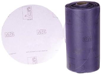 """3M Stikit Film Disc Roll 360L, PSA Attachment, Aluminum Oxide, 6"""" Diameter, P220 Grit (Pack of 1)"""