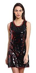 OSHEA Women's Dress (2007DRSS, Black, M)