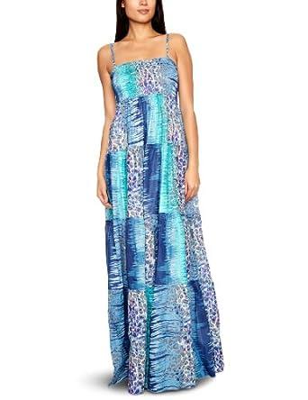 Ishya - Jsg-001 - Robe - Femme - Bleu - Taille  40