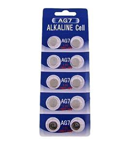 (10) New AG7 395 LR927 SR927 Watch Batteries