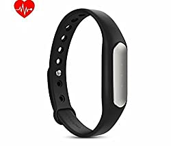 Technomart Original Mi Band Heart Rate Monitor Smart Wristband Bracelet Fitness Wearable Bluetooth 4.0 Tracker Waterproof IP67 Smartband