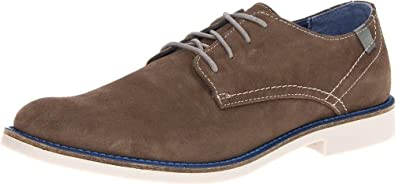 Mark Nason by Skechers Men's Bartime Oxford,Charcoal,6.5 M US