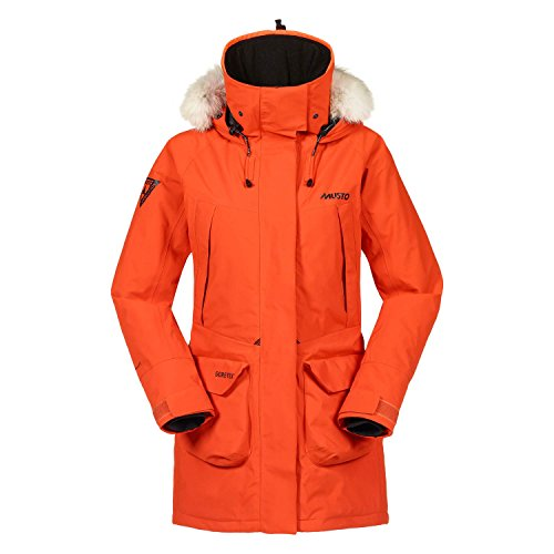 Musto Womens Arctic Gore-Tex Primaloft Parka - Burnt Orange 12