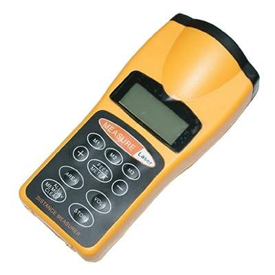 Generic Waterproof Digital LCD Ultrasonic Sonic Distance Measuring Tape Measure Meter Area & Volume Calculator Laser Pointer by eBuyerDeal