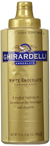 Ghirardelli White Chocolate Sauce 17oz Squeeze bottle