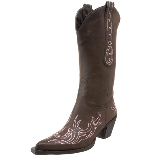 Roper Women's Rockstar Horseshoe Western Boot