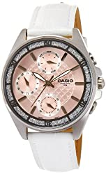 Casio Enticer Pink Dial Womens Watch - LTP-2086L-7AVDF (A860)