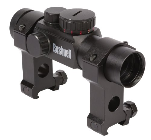 Bushnell Ar Optics Red/Green Dot Reticles Riflescope With Tactical Rings, 1X 28Mm