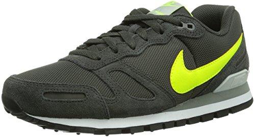 Nike Air Waffle Trainer Herren Low-Top Sneaker Schwarz (Grün) 47.5