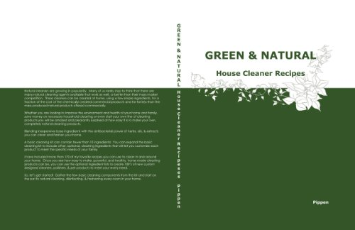Green & Natural House Cleaner Recipes