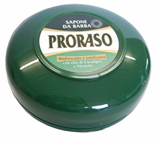 PRORASO Crème à raser 75 ml, vert Creuset