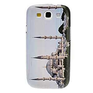 Castle Pattern Hard Case for Samsung Galaxy S3 I9300