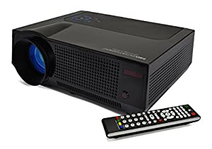 Favi riohd led 4t home theater hd projector for Hd projector amazon