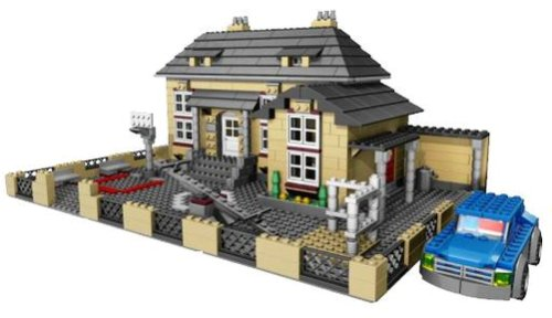 lego creator 4954 model town house at shop ireland. Black Bedroom Furniture Sets. Home Design Ideas
