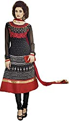 Georgette Embroidered Trendy Suit