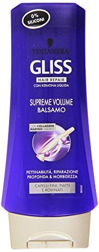 Testanera - Gliss hair Repair, Balsamo con Collagene Marino Liquido - 200 ml