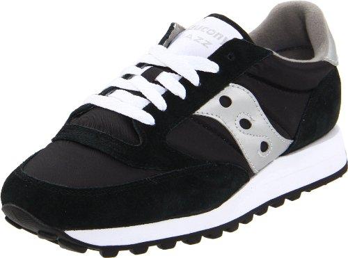 Saucony Originals Men'S Jazz Sneaker,Black/Silver,9 M front-1067682