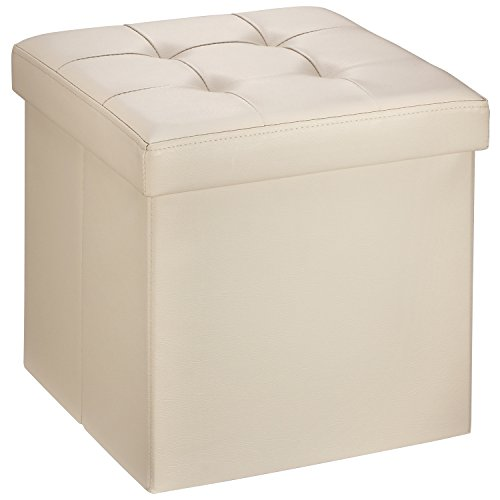 ollieroo-faux-leather-folding-storage-ottoman-bench-seat-foot-rest-stool-coffee-table-15x15x15-beige