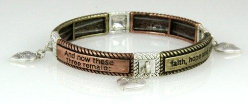4030022 Christian Scripture Religious Bracelet